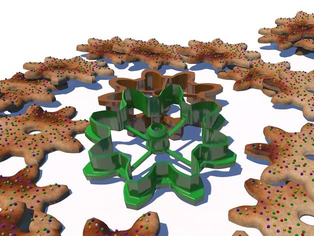 齿轮 饼干制作模具