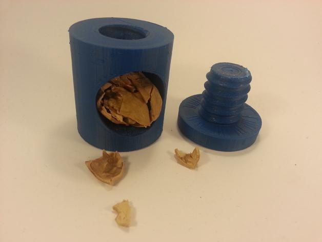 坚果压碎机 3D打印模型渲染图