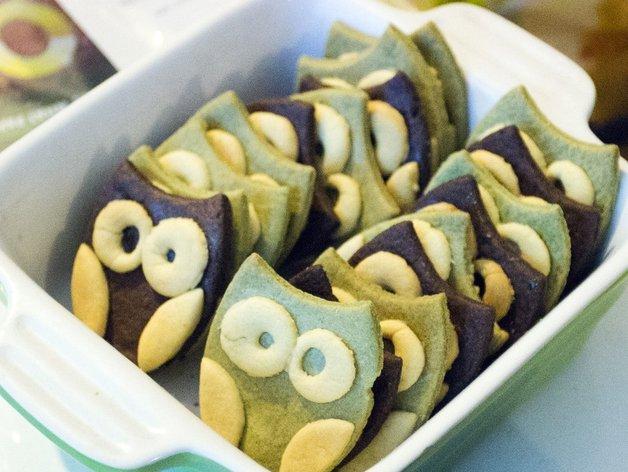 猫头鹰 饼干制作模具