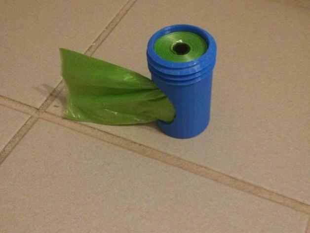 便携式宠物袋分发器 3D打印模型渲染图