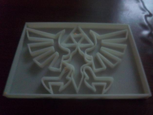 《塞尔达传说》标志 饼干制作模具