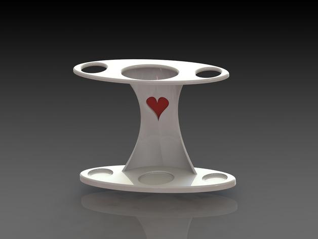 牙刷架 3D打印模型渲染图