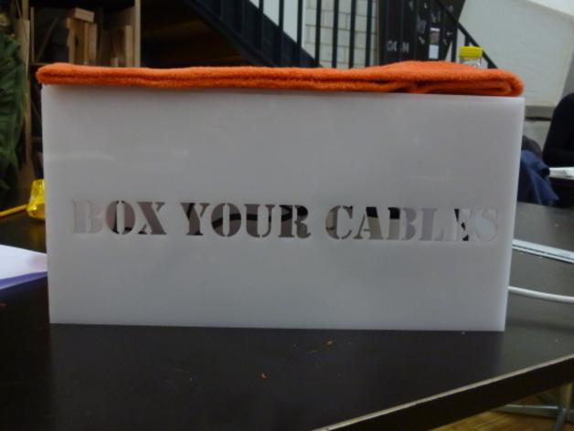 个性化分线盒 3D打印模型渲染图