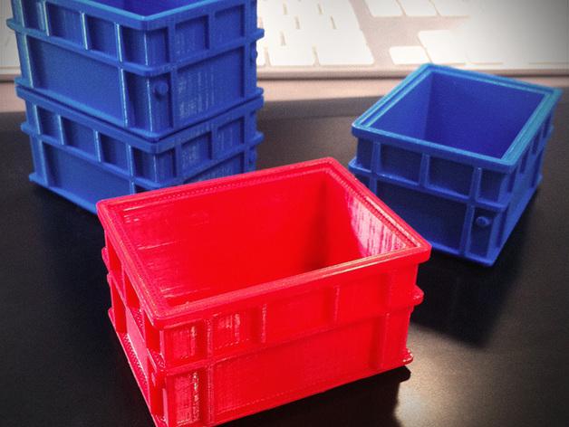 可堆叠小盒 3D打印模型渲染图