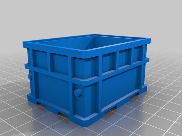 可堆叠小盒