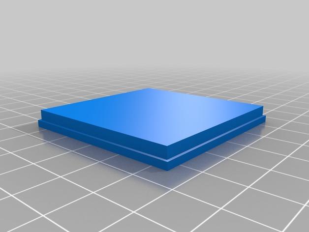 浮光透雕 立方体小盒