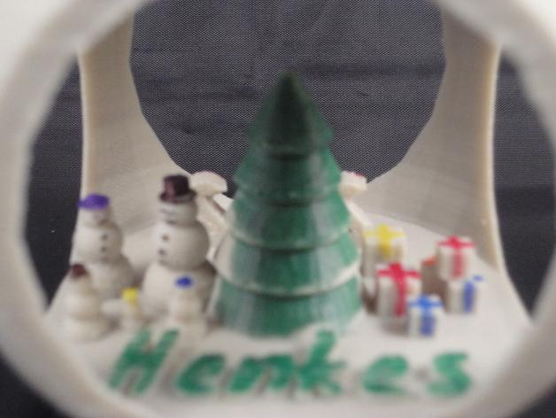 定制化圣诞树装饰品