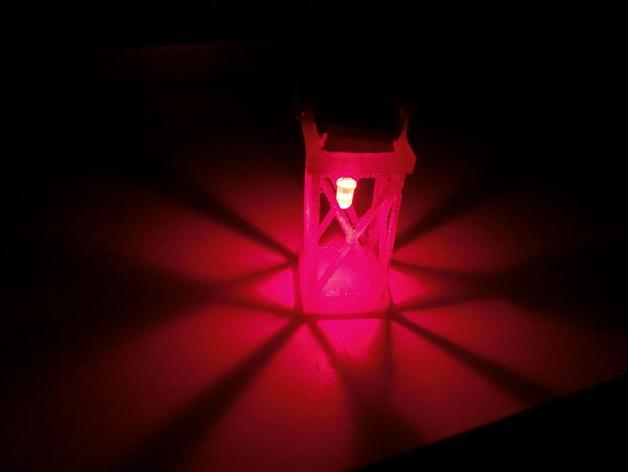 圣诞节LED提灯
