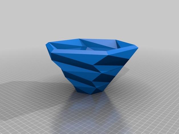 六边形螺旋碗