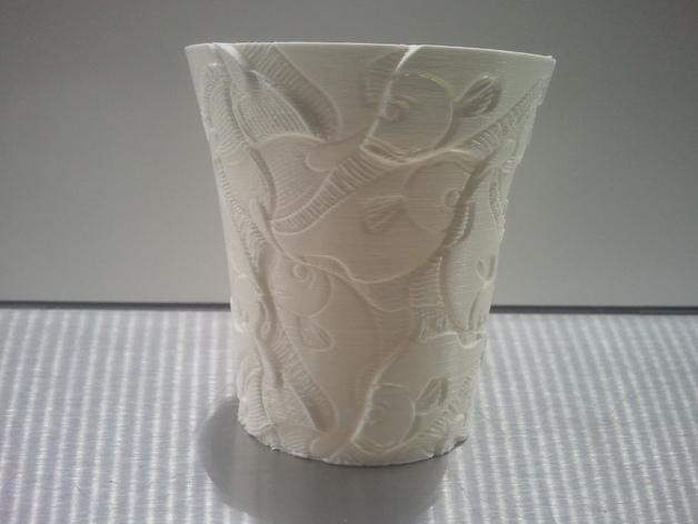 Escher花瓶/水杯