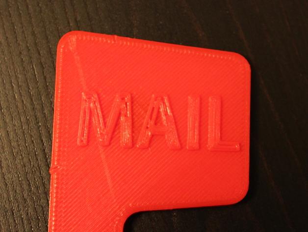 磁力邮筒小旗