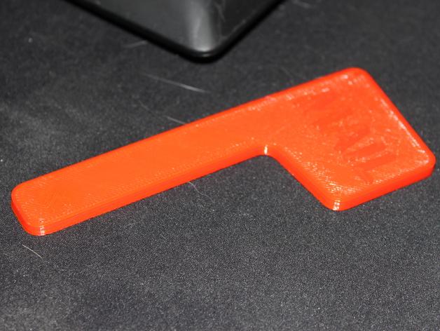 磁力邮筒小旗 3D打印模型渲染图