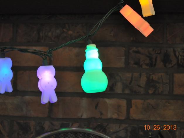圣诞彩灯 灯罩