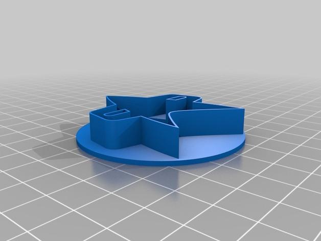 《星际迷航》通讯器 饼干制作模具