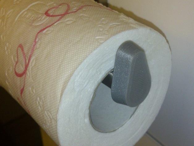 厕纸架挡板