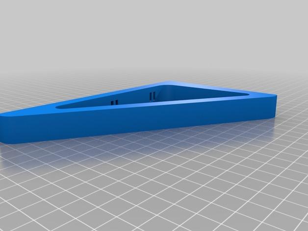 三角支架 3D打印模型渲染图