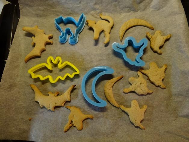 万圣节饼干制作模具