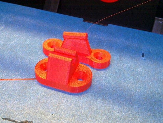 门夹/门扣 3D打印模型渲染图