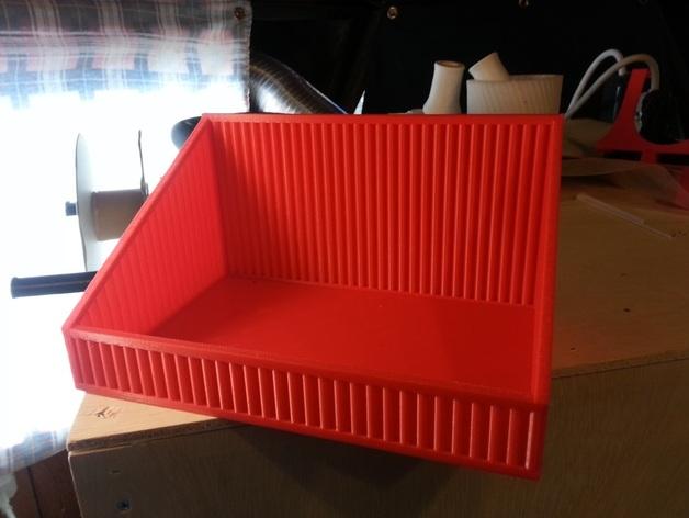 物品收纳盒 3D打印模型渲染图