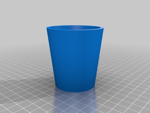 参数化杯子 3D打印模型渲染图