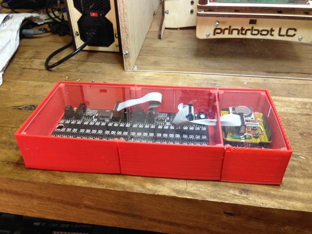 乒乓电子钟盒