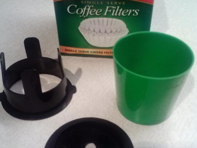 K-cup咖啡过滤器