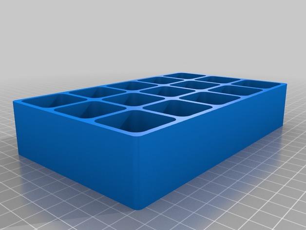 全定制收藏盒 3D打印模型渲染图