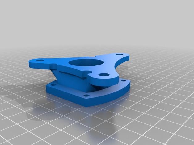 E-Rod机动窗帘杆马达接合器片和支架