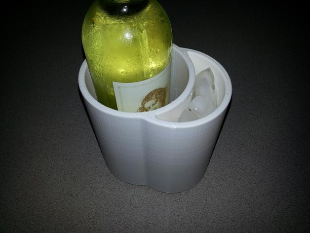 冷酒器 3D打印模型渲染图