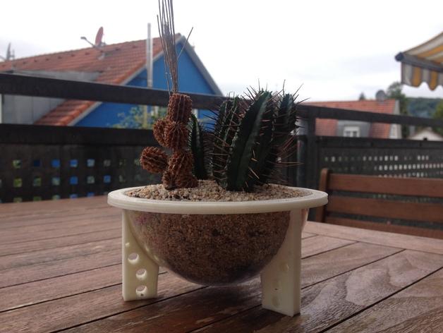 花坛支架 3D打印模型渲染图