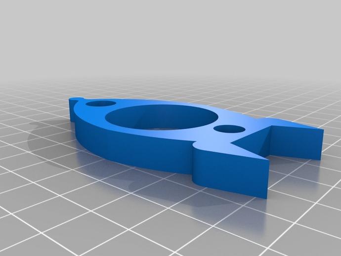 火箭餐巾环 3D打印模型渲染图
