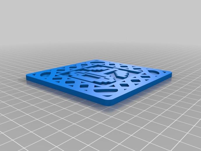 8-bit游戏杯垫