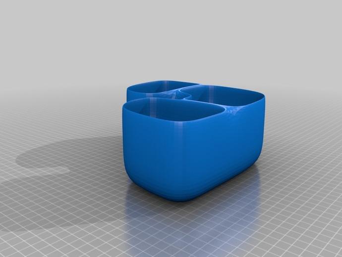 花盆#5 3D打印模型渲染图