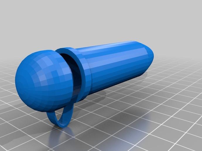 聚合酶链反应 试管 3D打印模型渲染图