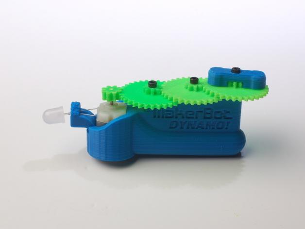 MakerBot发电机 3D打印模型渲染图