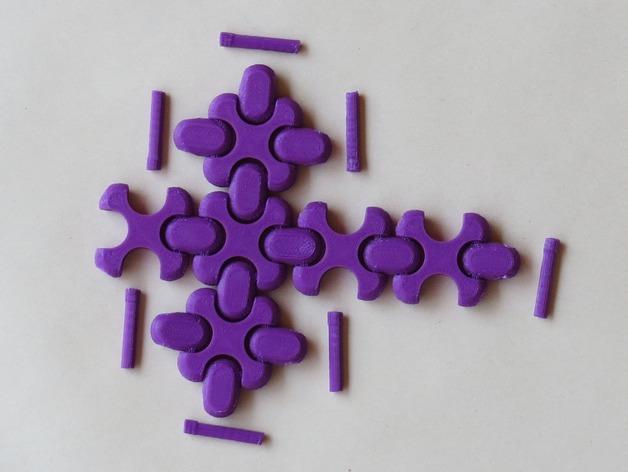可折叠方块