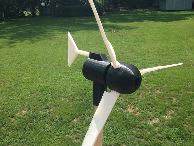 小风车 3D打印模型渲染图