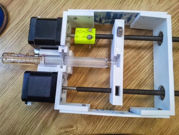 注射泵 3D打印模型渲染图