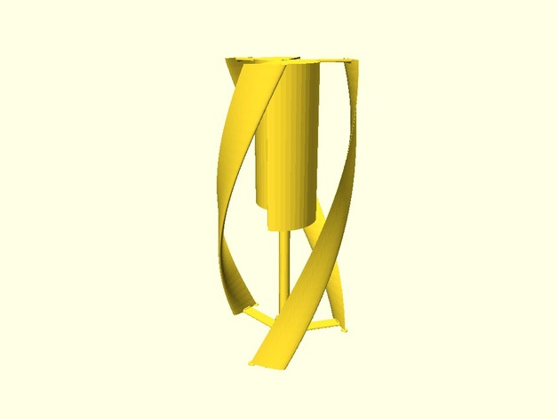 螺旋叶片风车图片