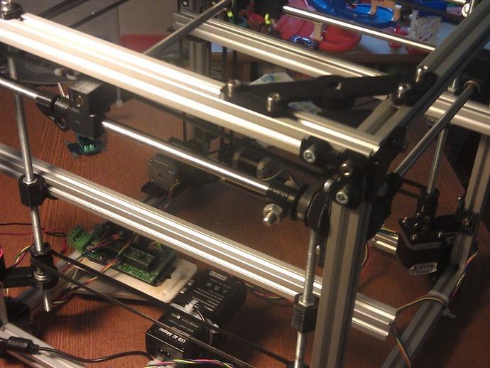 树莓派开源电脑板 3D打印模型渲染图