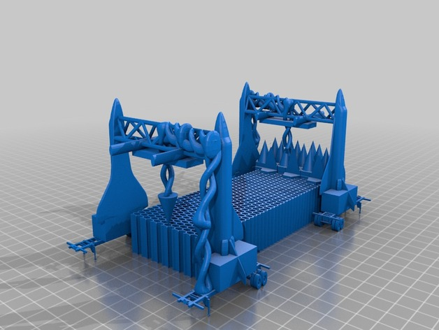 火星屋模型 3D打印模型渲染图