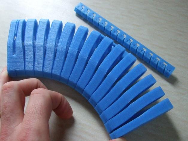 有弹性的盒子 文具用品 3D打印模型渲染图