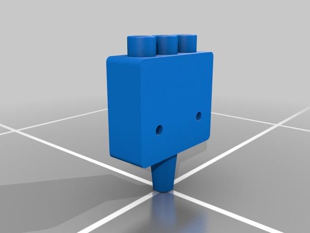 三腔插管打印头