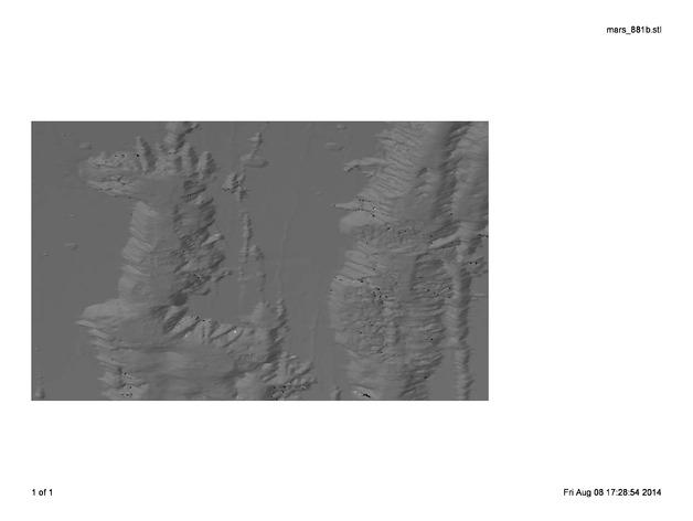 火星 模型