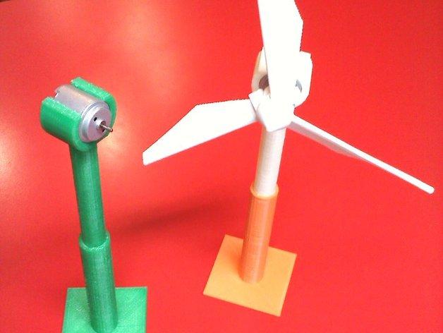 风力涡轮机 底座