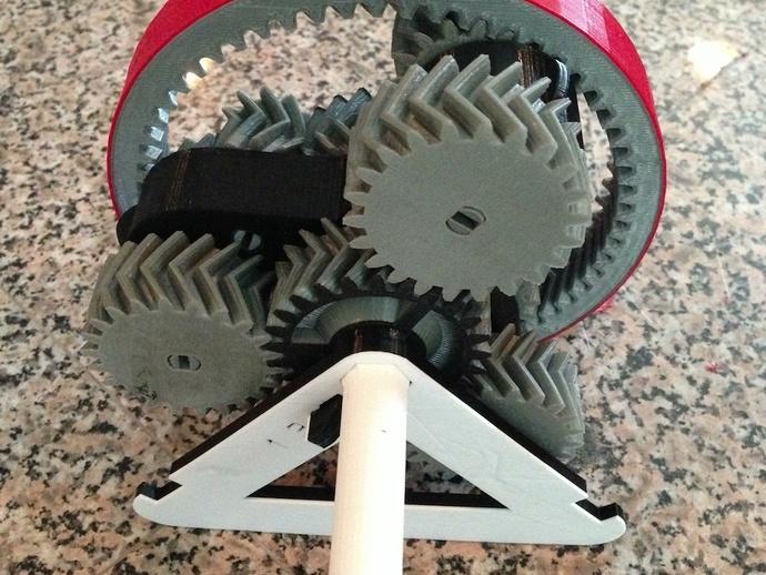 自动换档齿轮圈 3D打印模型渲染图