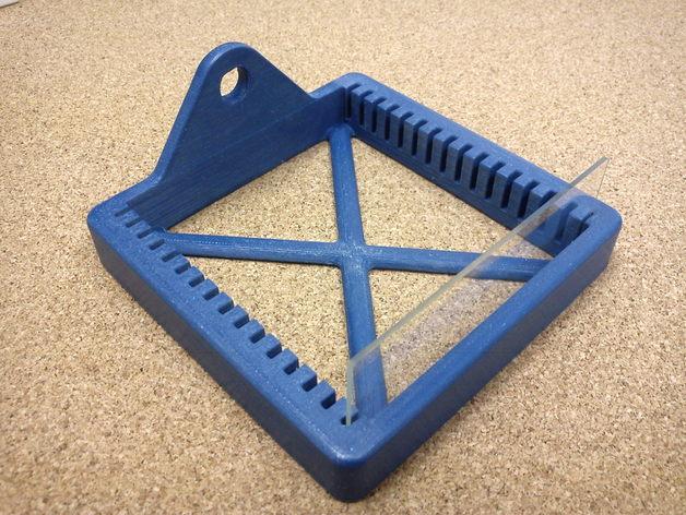 玻片架 3D打印模型渲染图