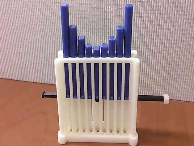 抛物线学习用具 3D打印模型渲染图