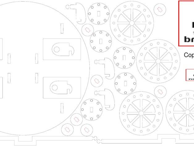 达芬奇坦克模型