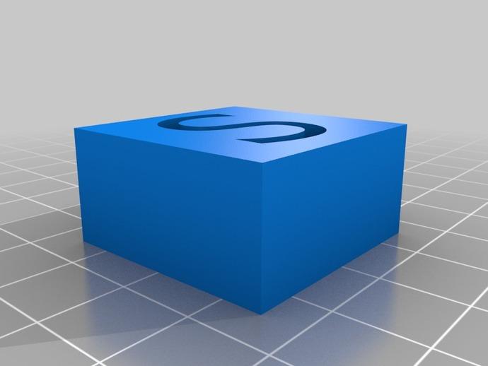 字母模型块